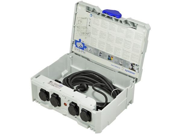 "Distributeur de courant Systainer T-Loc II ""SYS-PH"" EU"