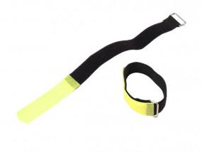 10 x Kabelbinder Klettband 30x10mm neonfarben