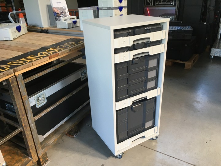 Werkstatt braucht Ordnung - Alles griffbereit im SYS-AZ Cabinet