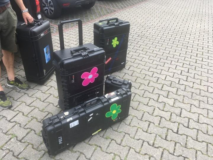 Fotograf und Kameramann will leichtere Koffer - Peli Air Case 1615