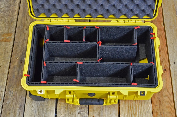 Tutorial - Rasterschaumstoff vs. Trennwand-Set vs. Trekpak für Peli Cases