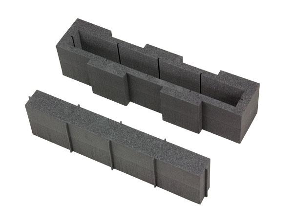 Hard foam laptop compartment I 430 x 105 mm