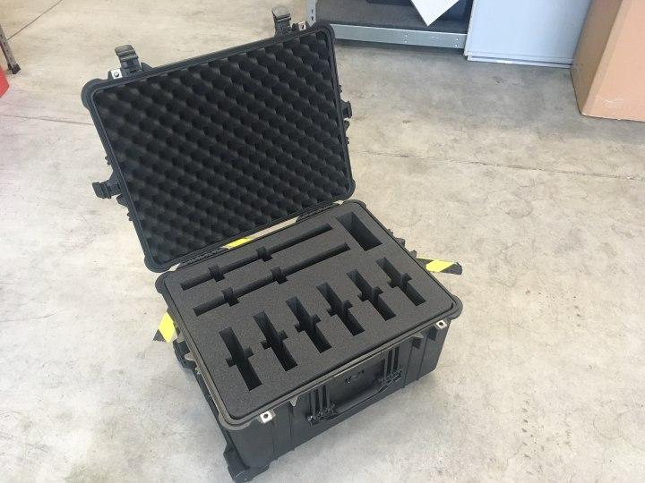 Werkzeugfirma aus Berlin braucht sichere Verpackung - Peli Case 1620 mit Hart-Schaumstoffeinlage