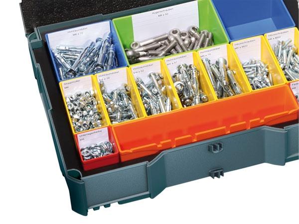 Beschriftungsset für Boxen-Systainer T-Loc I