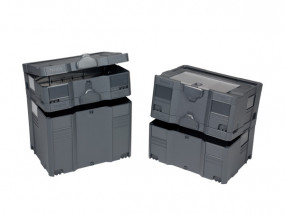 Systainer T-Loc I, II mit Deckelsortierfach, III, IV