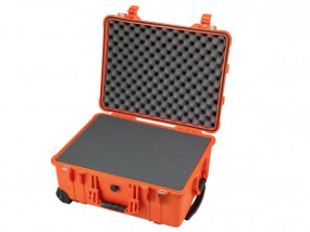 Peli Case 1560 avec mousse orange
