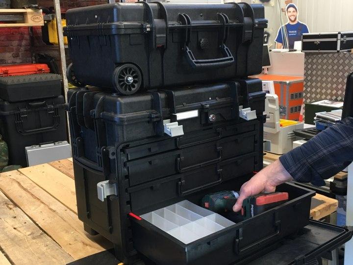Kunde aus Erkelenz braucht Schubladenkoffer - GT ALL.IN.ONE