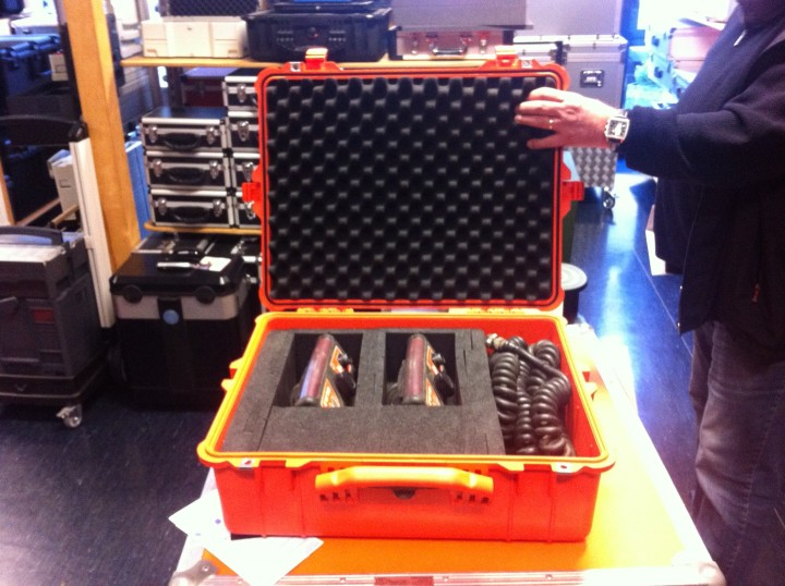 Fernsteuerungs-Peli-Case mit Formteilen gepolstert
