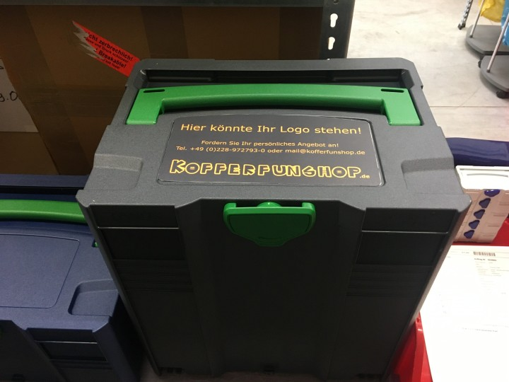 Ordnung mit Boxen-System schaffen - für einen professionellen Kundenauftritt im technischen Außendienst