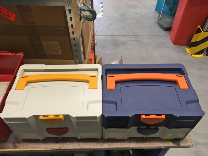 T-Loc Systainer - freie Farbwahl bei Korpus, Griff und Verschluss