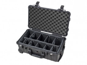 Peli Case 1510 with divider set black