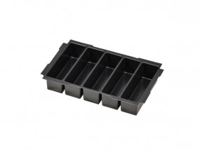 Deep-drawn insert with 5 compartments for Mini-Systainer T-Loc