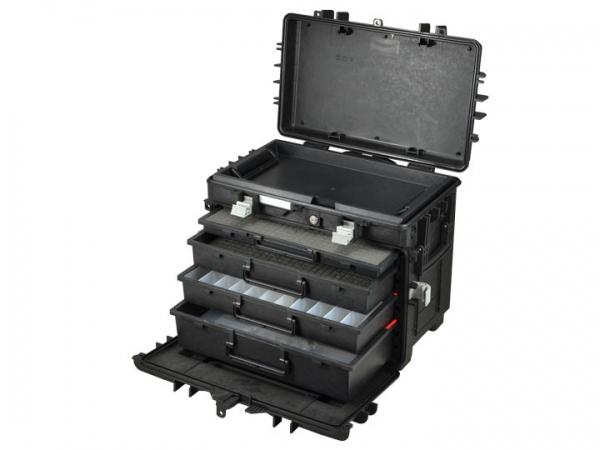 GT Schubladenkoffer ALL.IN.ONE AI1.KT01 mit 4 Schubladen und Einlagen