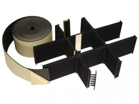 Velcro-divider-system