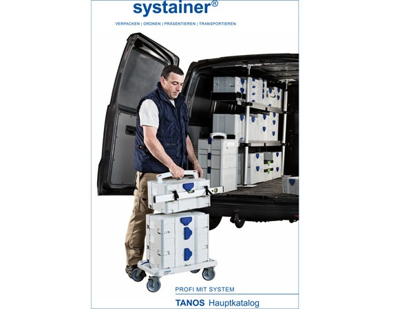 Tanos Systainer-Katalog 2017