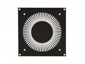 Mounting panel for axial fan