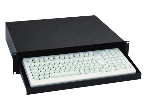 """Rack-Schublade 19"""" 2HE für Computer-Keyboard"""