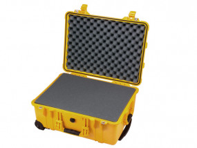 Peli Case 1560 with foam yellow