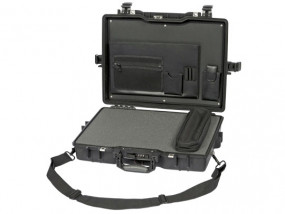 Peli Case 1495 laptop case attaché with foam 17""