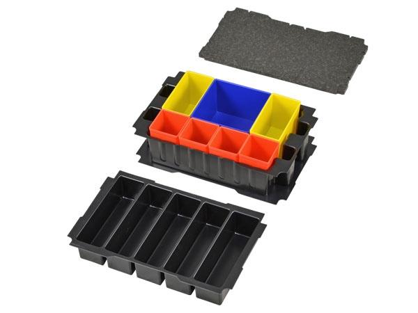 Boxeneinsatz-Set für Mini-Systainer T-Loc III 5-fach