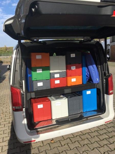 Spielwarenvertriebler aus Bad Breisig braucht sortierbare Musterkisten - Systainer T-Loc I-V