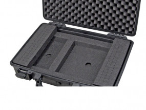 Laptop-insert with universal cubed foam for Peli 1470