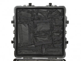 Photo lid organizer for Peli 0370 / 1640