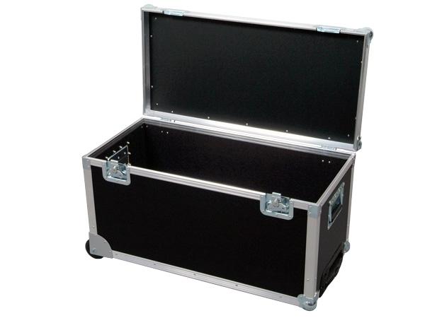 Flight Case Pack Case 4 con trolley