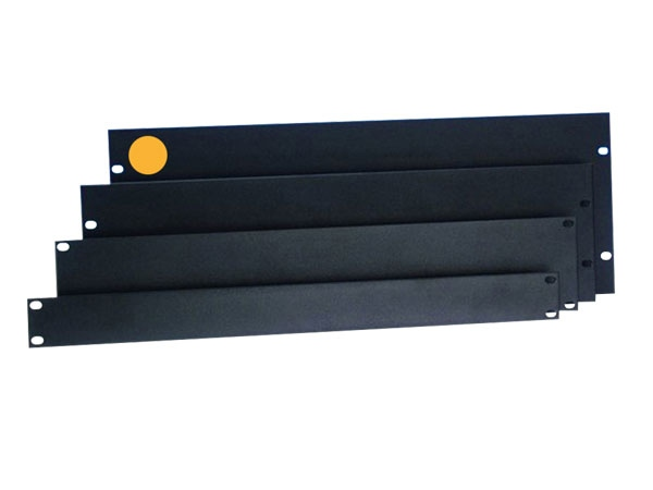 "Rack-Blende 19"" 4HE Stahl flach"