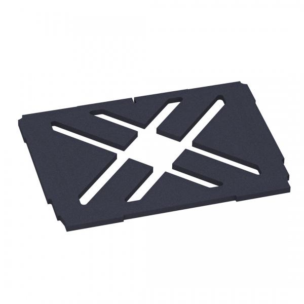Bodenpolster mit Kreuzausschnitt für Systainer3 - Größe M