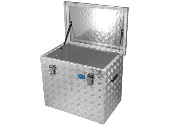Aluminium-Riffelblechbox R120 l