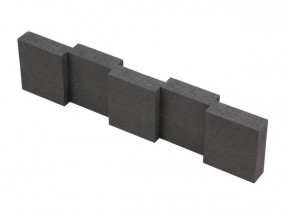 Hart-Schaumstoff Distanzstück 430 x 45 mm