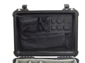 Photo lid organizer for Peli 1500 1520