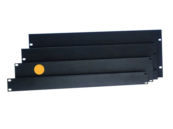 "Rack-Blende 19"" 2HE Aluminium U-Form"