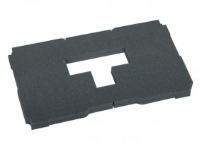 Cube cushion for bottom 30mm soft for Midi-Systainer T-Loc