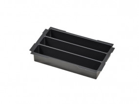 Deep-drawn insert with 3 compartments for Mini-Systainer T-Loc