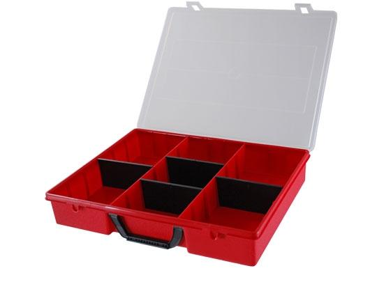 Sortimentsbox rot