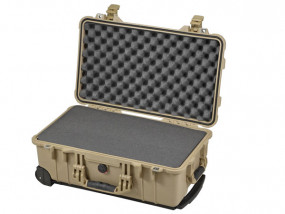 Peli Case 1510 with foam desert tan