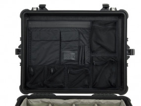 Photo lid organizer for Peli 1600 1610 1620