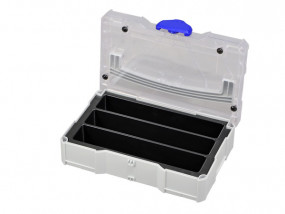 Mini-Systainer T-Loc I 3 compartments with transparent lid