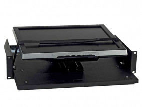 "Rack drawer 19"" 2HE for screens"