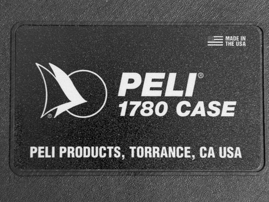 Peli Case 1780 leer