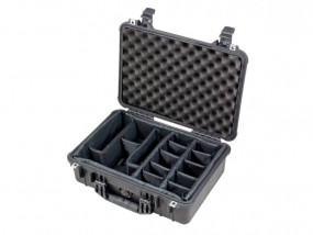 Peli Case 1500 with divider set