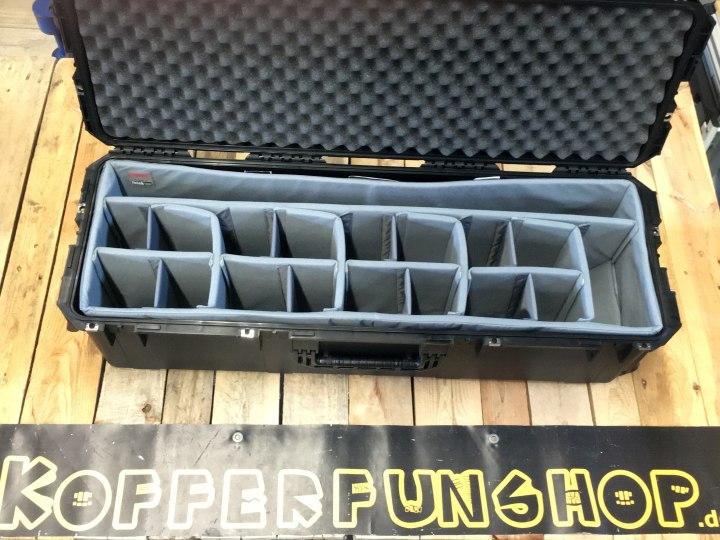 Filmcrew braucht Kofferunterteilung - SKB Trennwand-Set für Peli Case 1740