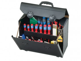 Leather Tool Bag Top-Line large I with Trolley