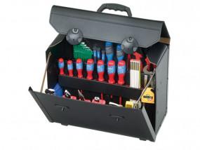 Leder-Werkzeugtasche Top-Line groß I mit Trolley