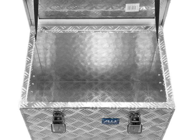 Aluminium-Riffelblechbox R70 l