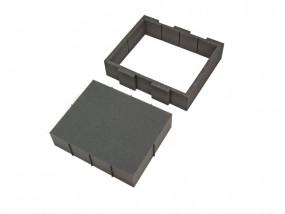 Hart-Schaumstoff Gerätefach III 430 x 375mm