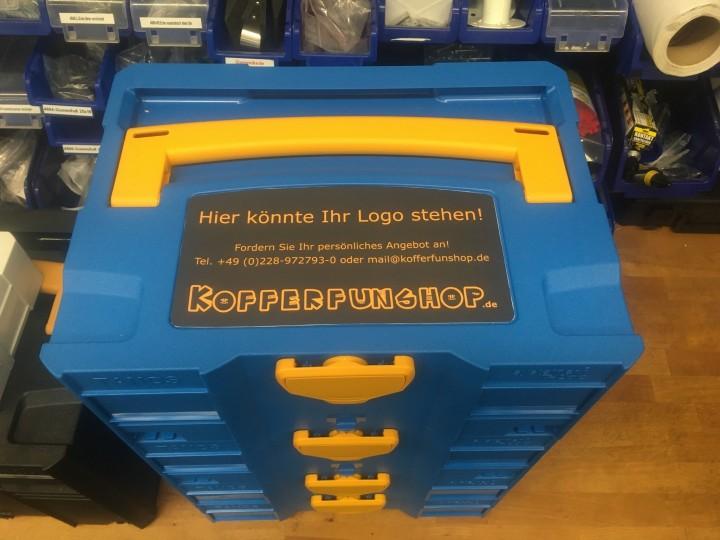 Kunde aus Schweden bestellt konfigurierbare Systainer T-Loc