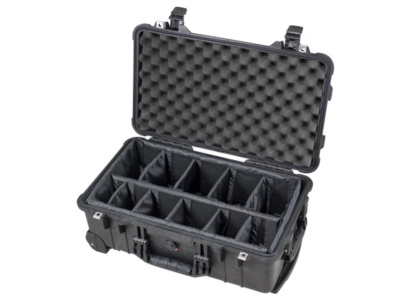 Peli Case 1510 avec kit séparateurs noir